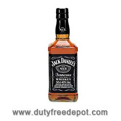 Jack Daniels Tennessee Black 40% vol  50cl