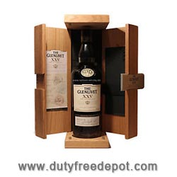 Glenlivet XXV 25 Jahre Single Malt Scotch Whisky 43%