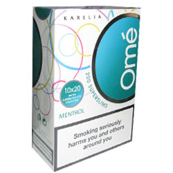 Karelia Omé Menthol 200 Superslim Filter Cigarettes