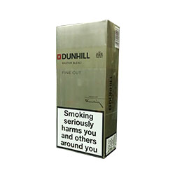 Dunhill Fine Cut Gold/White