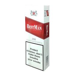 Bestman Red 100's Cigarettes