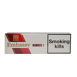 Special Price-Embassy Number 1 Cigarettes
