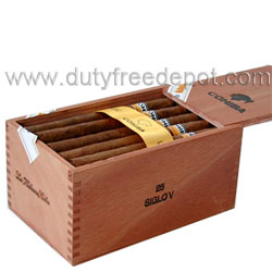 Cohiba Siglo V Box of 25 Havana Cigars