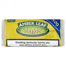 Amber Leaf Hand Rolling Tobacco (5 packs of 50 gr.)