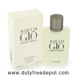 Giorgio Armani Acqua Di Gio For Men Eau De Toilette Spray (100 ml, 3.4 oz )