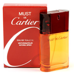 Must De Cartier  Eau De Toilette  For Women (50 ml./1.7 ml.)