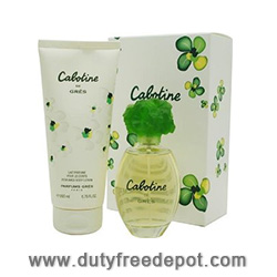 Gres Cabotine Duty Free Duo (EdT 100ml, Body Lotion 200ml)