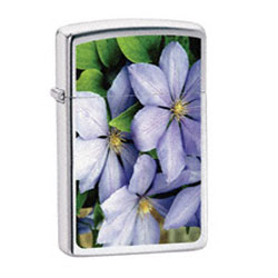 Zippo Purple Petals Lighter (model: 24525)