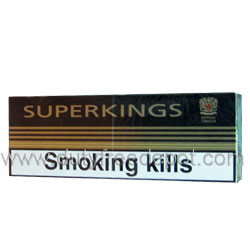 Superkings 100 Cigarettes