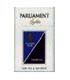 Parliament  Blue King Box Cigarette, Made in Switzerland