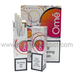 Karelia`s Omé Superslims Cigarettes (Tar 6 mg Nicotine 0.6 mg Carbon Monoxide 6 mg)